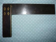 Superb & Rare Early Rosewood Carpenters Square by Henry Brown & Sons, Birmingham