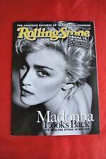 Madonna October 29, 2009 Rolling Stone Music Celebrity Magazine