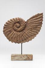 Dekofigur Muschel Nautilus Skulptur Figur Statue Designobjekt Design Deko KARE