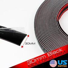 """30mm Black 240"""" Moulding Strip Trim Decoration Guard Auto Door Edge Body Side"""