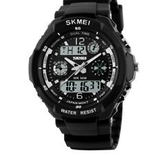 S shock mens sports shock  watch digital analogue , hiking, camping
