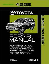 1998 Toyota Land Cruiser OEM Repair Manual
