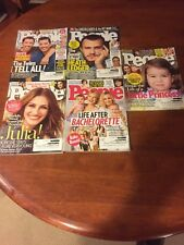 People Magazine Lot Of 5 Copies from 2017. PLEASE SEE PICTURES.