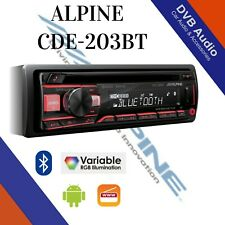 Alpine CDE-203BT Car CD MP3 Bluetooth Stereo USB Receiver Headunit #1 Seller