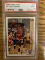 1991 Upper Deck Michael Jordan #44 PSA 9 Mint