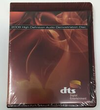 NEW 2008 HD DVD DTS High Definition Demonstration Demo