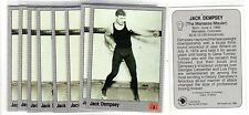 1X JACK DEMPSEY 1991 All World Boxing #71 Lots Available IBF WBC