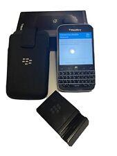 BlackBerry Classic 16Gb Unlocked Smartphone - Black - No Camera Former Gov Phone