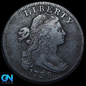 1798 Draped Bust Large Cent --  MAKE US AN OFFER!  #K8187