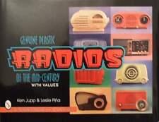 BOOK/LIVRE : PLASTIC RADIO 50s,60s (annees 50,60,zentih,philco,motorola,emerson
