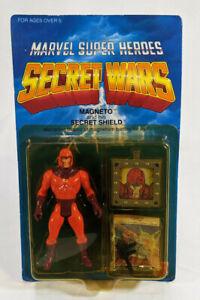 Marvel Super Heroes Secret Wars Magneto Action Figure - Sealed - Unpunched