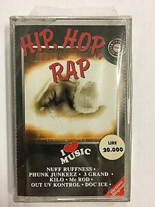 HIP HOP RAP - I LOVE MUSIC - MC MUSICASSETTA NUOVA E SIGILLATA