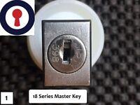 Master key for L&F 18 Series 18001-18999 Pedestal Desk locks 1st P&P