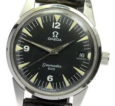 Authentic Vintage OMEGA Seamaster  military 600 cal.613 Mechanical Men's _354152