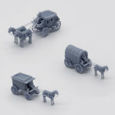 Outland Models Scenery Vehicle Old West Carriage / Wagon Set 1:160 N Scale
