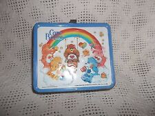 Vintage 1983 Tin Metal Care Bears Aladdin Lunch Box American Greetings- Bin K