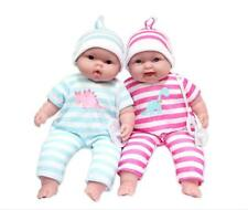 JC Toys Lots to Cuddle Babies, 13-Inch Baby Soft Doll Body Twins, Designed...