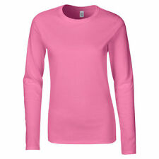 Gildan Long Sleeve Plus Size T-Shirts for Women