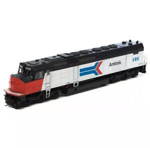 Athearn Genesis HO EMD SDP40F Amtrak Phase1 AMTK #586 DC LED ATHG63949