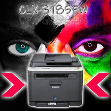 Samsung clx-3185fw 4 in 1 Mfp Imprimante Laser Couleur Sans Toner