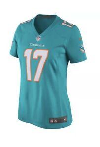 Nike Miami Dolphins Ryan Tannehill 17 Game Jersey Aqua Womens XL AJ1300 312