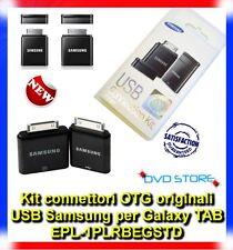 Kit connettori OTG originali USB Samsung per Galaxy TAB 2 10.1 P7500 P7510 P5100
