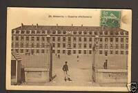 ABBEVILLE (80) CASERNE D'INFANTERIE animée en 1913