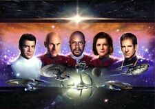 Star Trek - The Five Captains Mini Print