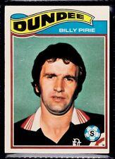 TOPPS 1978 SCOTTISH FOOTBALLERS-#085-DUNDEE-BILLY PIRIE