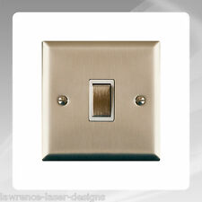 Gloss White Light Switch Surround Finger Plate Panel Cover - FREE UK POSTAGE