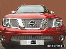Zunsport fits Nissan Navara 2006-2009 Upper and Lower Front  Grille Set 4 piece
