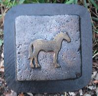 Plaster cement horse plastic travertine tile mold mould