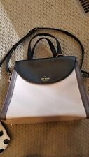 Kate spade purse black pale pink mauve