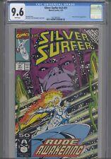 Silver Surfer V3 #51 CGC 9.6 1991 Marvel: Nova and Galactus App: NEW FRAME