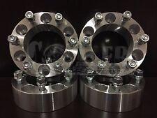 "Wheel Spacers 2"" Fit Isuzu Amigo Aluminum Set of 4 Adapter 6x5.5 6 Lug Pickups"