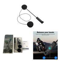 Casque de moto BT8 Bluetooth V4.0 + EDR écouteur lecteur MP3 réponse