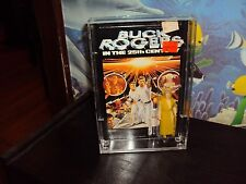 MEGO BUCK ROGERS 3 3/4 INCH FIGURES ACRYLIC CASES TO STORE THEM 9H X 6 WX1 1/4DP