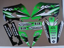 FLU DESIGNS PTS3 GRAPHICS KAWASAKI KX65  AND 2002-2009 KLX110