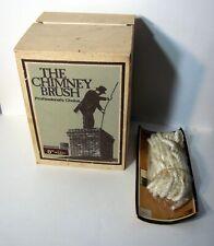 "Vintage Worcester Wire Chimney Brush 8"" Round & 25' Line Rope NOS New"