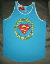Superman Last Son of Krypton Tank Top_ Size 2XL_ New with tags_Official Licensed