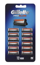 Gillette ProGlide Men's Razor Blade Refills, 12 Count, NEW GENUINE SEALED