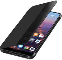 Original Huawei P20 Lite Flip Case Smart View Cover Hülle Schutzhülle Tasche