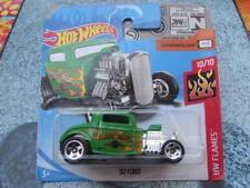 Hot Wheels 2018 #246/365 1932 FORD green HW Flames