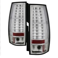 Spyder Auto 5002143 LED Tail Lights (Chrome/Clear)