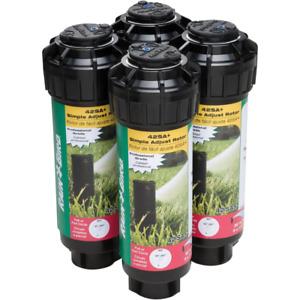 Rotor Sprinkler Heads 4 Pack Garden Lawn Irrigation Watering Sprinklers Heads