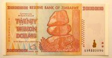 Zimbabwe 20 trilioni di dollari 2008 UNC 20.000.000.000.000 P89