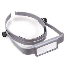 Donegan Optical OptiSight W/3 Lens Plates, 3X, 4X, 5X Head Visor Magnifying Grey