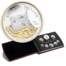 2010 Canada Proof Double Dollar Set - Canadian Navy 100th Anniversary