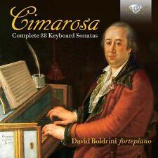 DAVID BOLDRINI - COMPLETE 88 KEYBOARD SONATAS 2 CD NEU CIMAROSA,DOMENICO
