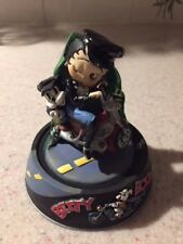 """BETTY BOOP FIGURINE """"BORN TO BE BOOP"""" 1997 Glass Dome Hand Painted & Numbered"""
